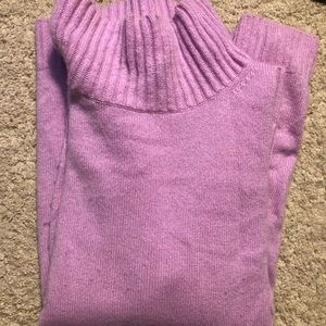 Ann Taylor Cashmere mock neck sweater size Small